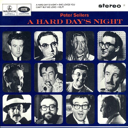 A Hard Day's Night E.P. - Front Cover