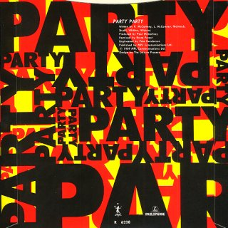 Flowers In The Dirt World Tour Pack - 'Party Party' Rear Cover